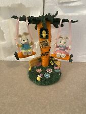 Bunny Swing Easter Decoration with Box
