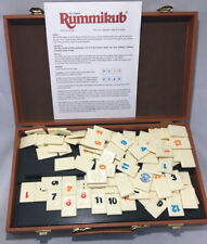 60th Anniversary Rummikub Tile Game With Carry Case Complete