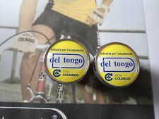 Vintage style Del Tongo Team Handlebar End Plugs