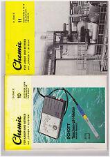 2 Hefte Chemie für Labor und Betrieb mit Lernen + Leisten Oktober+November 74