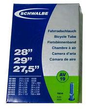 """Schwalbe AV19 Schrader Tube – 27.5, 28, 29"""" - Inner Tube (50-584 to 40-635)"""