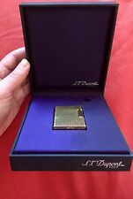 DuPont Lighter. Adjustable Flame. Classic Gold Plated In Box.