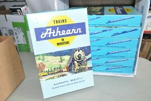 """HO scale EMPTY box lot set of 7 Athearn blue special sets (11"""" x 10.7.5"""")"""