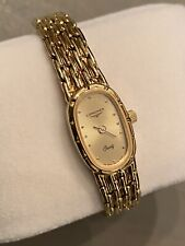 Longines Gold Vintage Ladies Luxury Swiss Quartz Watch FS 0378 SWISS 961 Women's