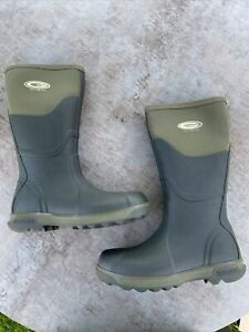 Grubs Tayline 5.0 Wellington Boots Moss Green Size 6 to 13