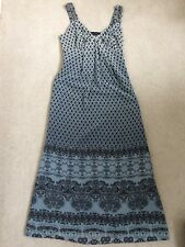 NUT MARKS & SPENCER PER UNA STUNNING DRESS WITH SEQUIN STRAP DETAIL - SIZE 12 R