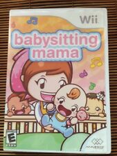 Nintendo Wii Babysitting Mama Video Game - Complete with Original Game Manual