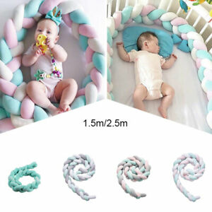 Baby Bedding Luxury Infant Newborn Colorful Long Strips Baby Bedding Protection