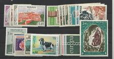 Monaco Année complète 1971 YT 847/66 chien dog ....