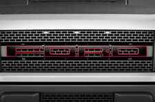 F150 SVT Raptor Ford Grill Insert Graphics Stickers Decals 2010-2014 BLACK RED