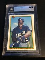 1990 Bowman #320 Frank Thomas Rookie BGS 8.5 Chicago White Sox Original
