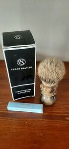 GENUINE Frank shaving 2-band Finest badger hair shaving brush 20mm,Vintage