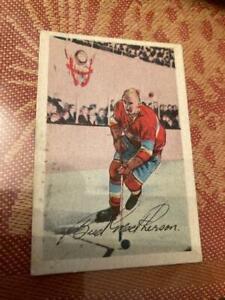 1952 53 PARKHURST HOCKEY #11 Bud Macpherson
