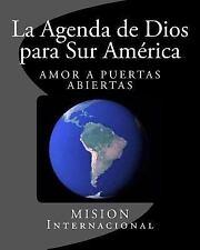 La Agenda de Dios para Sur America by José Herrera (2012, Paperback)