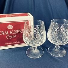 """Royal Albert  /""""Old Country Roses/""""  7 1//4/"""" Water//Wine Goblets x2!!"""