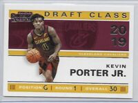2019-20 Contenders Kevin Porter Jr Draft Class Of 2019 Insert SP No. 28