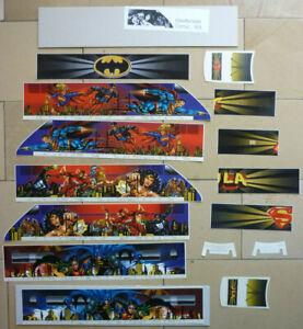 Für LGB LCE / AMTRAK: Etikettensatz / Decals - Comic W.B. Warner Brothers RARE !