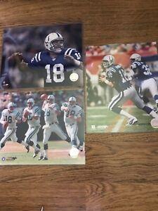 "1999 QB club Peyton Manning Indianapolis Colts #18 NFL Photo File 8""x10"" 2004"