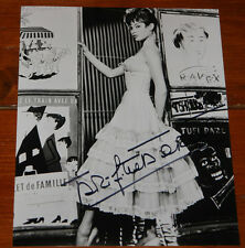 BRIGITTE BARDOT ~ AUTHENTIC BEAUTIFUL HAND SIGNED 10 x 8 AUTOGRAPH PHOTOGRAPH 12