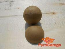 "10 x 2,5"" Paper Ball Shell Kugelhülsen Hemis Hemispheres Casings Aerial Shell"