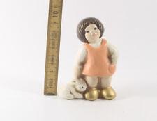 Thun === figürliche Keramik === Mädchen mit Hase
