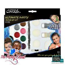 ULTIMATE PARTY FAMILY MAKE UP KIT 21 Piece Fancy Dress Face Painting Kit 01442
