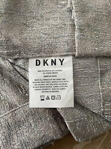 DKNY Blackout Curtains Drapes Rod Pocket Window Curtain Panels 2pk 48x94