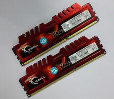 G.SKILL RipjawsX 8GB / 2x 4GB DDR3 1600 Desktop RAM F3-12800CL9D-8GBXL XMP 1.5v
