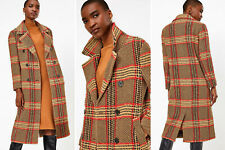 marks spencer autograph  checked coat RRP £119 BNWT SIZE 22