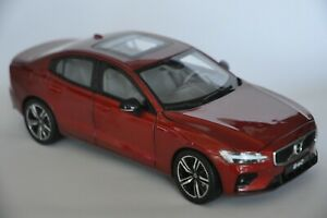 Volvo S60 2020 car model in scale 1:18 Fusion Red