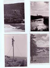 Lot 204: 4 AK PK Fotokarten Landschaften tw. gel. vor 1945 Schwarzwald Fluss