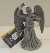 "DOCTOR WHO Official BBC 5"" WEEPING ANGEL Resin Christmas ORNAMENT Holiday Adler"