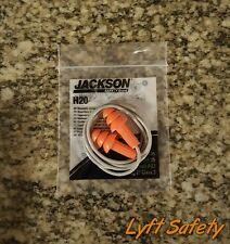 Kimberly Clark Jackson H20 Reusable Ear Plugs Corded Orange Noise Reduction 26