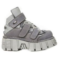 New Rock NR M.285 S17 Grey,Silver - Boots, Metallic, Unisex