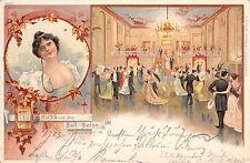 Saluto dal Ball-Salon, schumannstr., Berlino, 1903