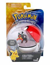 Pokémon Clip`N Carry Flamiau & Pokéball, Actionfiguren, Litten & Poké Ball