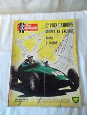 Revue L'action automobile et touristique juillet 1959