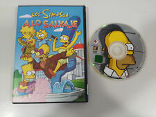 THE SIMPSONS TO THE WILD 4 EPISODES DVD + EXTRAS SPANISH ENGLISH