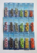 900 NEW Painted Jig Heads 1/8 1/16 1/32 Fishing Lures Bait Tackles Assorted Lot