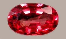 19thC Antique ½ct Red Sapphire Miraculous Gem St. Edward Confessor British Crown