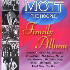 Mott The Hoople Family Album CD *SEALED* Steve Hyams Mick Ralphs British Lions
