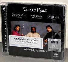 WATER LILY WLA-CS-44-SACD: TABULA RASA - Bela Fleck, Bhatt, Chen - OOP USA SEALD