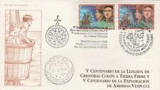 1998 Vespucci - Venezuela - mixed FDC [Caracas]