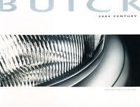 2004 Buick Century 26-page Original Car Sales Brochure Catalog