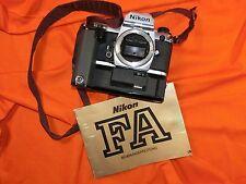 Nikon fa No. 5206560 body with Winder md15 No. 610626