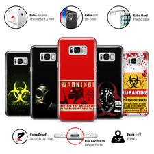 Virus Biohazard Apocalyptic Quarantine Gasmask GEL Phone Case Cover for Samsung