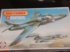 Classic Matchbox Hawker Hunter T.Mk.7/Mk.F.6 1/72 3 colour kit. PK-117 Complete