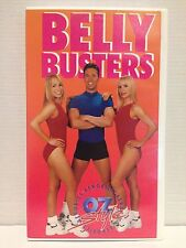 AEROBICS OZ STYLE ~ BELLY BUSTERS ~ AS NEW VHS VIDEO ~ FREE POST
