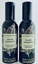 2 BATH & BODY WORKS ISLAND MARGARITA CONCENTRATED ROOM SPRAY 1.5oz