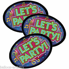 8 Birthday Let's Party Music Celebration Invitations Invites plus Envelopes